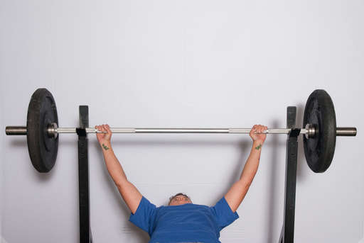 Wide Grip Bench Press: clear